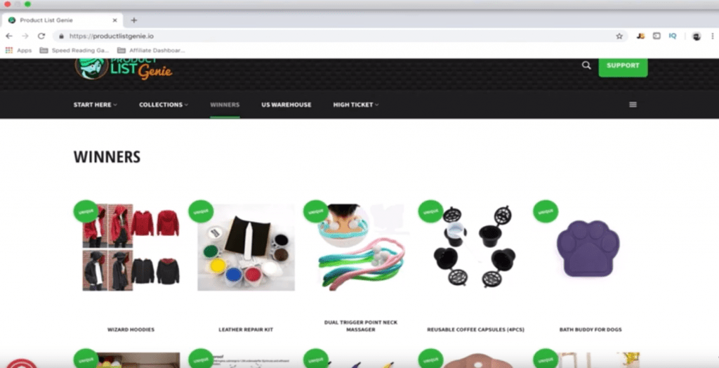 HotProducts.io - Ecommerce