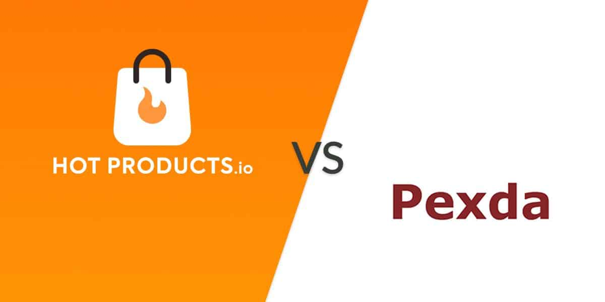 hotproducts.io vs pexda